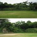 加納城(岐阜市営 加納公園)本丸南東