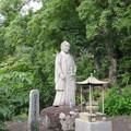 本立寺(伊豆の国市)江川太郎左衛門像