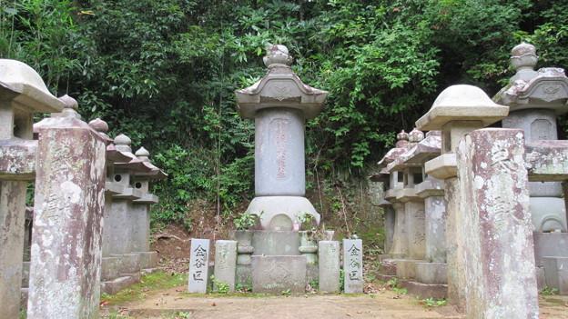 本立寺(伊豆の国市)源英龍墓碑