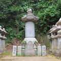 Photos: 本立寺(伊豆の国市)源英龍墓碑
