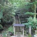 修禅寺奥の院(正覚院。伊豆市)駆篭の窟(岩の洞)