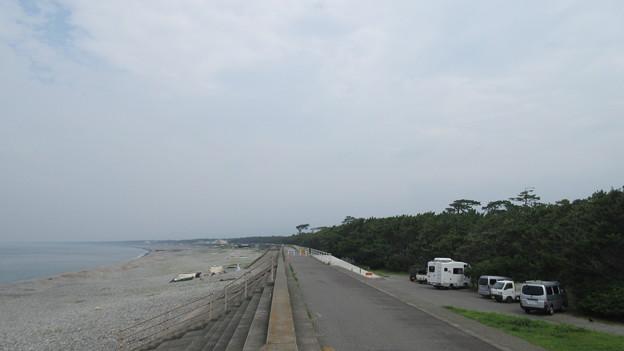 千本浜(沼津市)北西