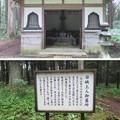 西山本門寺(富士宮市)日映上人墓所