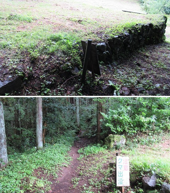 Photos: 潜龍院跡(東吾妻町)岩櫃山登山道 赤岩通り