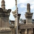 勝願寺(鴻巣市)伊奈忠治側室・忠次室墓