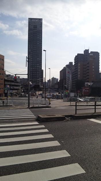 覚林寺(清正公。白金台)清正公前交差点