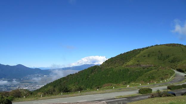箱根芦ノ湖展望公園(御殿場市)富士は見えず