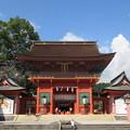 富士山本宮浅間大社(富士宮市)楼門