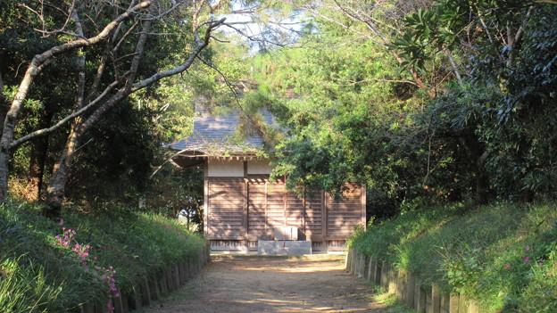 東漸寺/網戸城(旭市)熊野神社