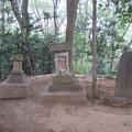 小手指原古戦場(所沢市)浅間神社・白旗塚碑
