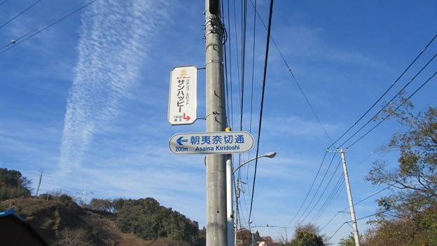 朝夷奈(朝比奈)切通(横浜市金沢区)