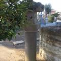 善長寺(館林市)祥室院殿墓前石灯籠