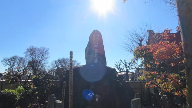 佐野厄除け大師(栃木県佐野市)田中正造墓