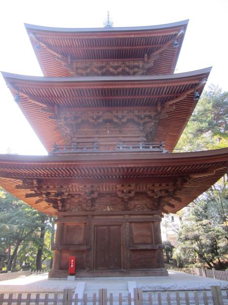 豪徳寺/世田谷城(世田谷区)三重塔