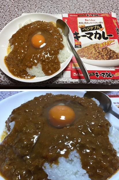 ハウス キーマカレー辛口(゜▽、゜)