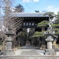 恵林寺(甲州市小屋敷)黒門(総門)