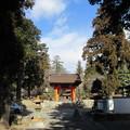 恵林寺(甲州市小屋敷)赤門(四脚門)