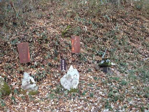 Photos: 法華寺/上社神宮寺跡(諏訪市)武田信玄公墓碑
