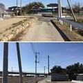 Photos: 天神島城(一色氏館。幸手市)縄張南西端。出入口考察地