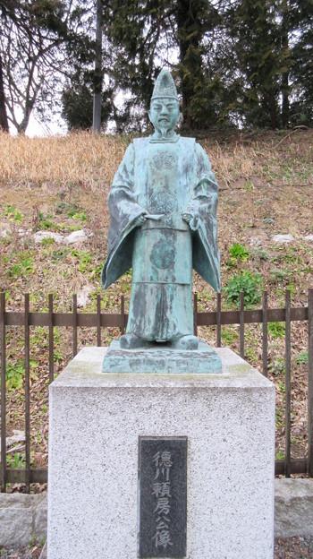 水戸城(茨城県)徳川頼房公像