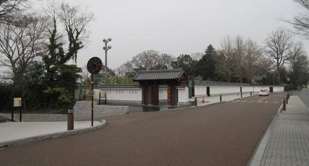 水戸城(茨城県)二の丸 杉山坂・杉山門