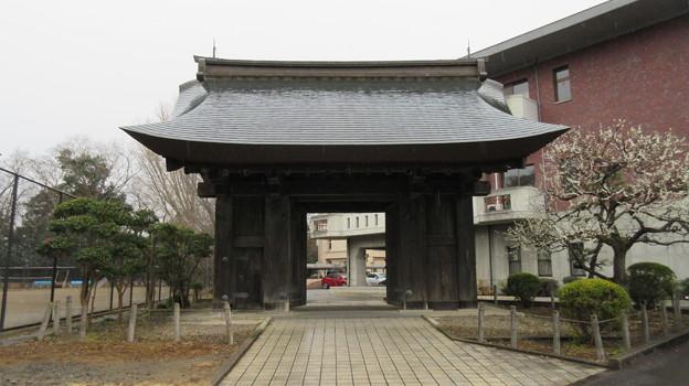 水戸城(茨城県)本丸 復元移築薬医門