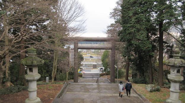 常盤神社(水戸市)一の鳥居