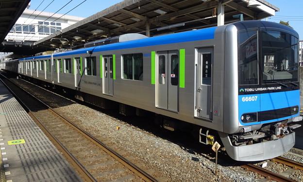 東武アーバンパークライン60000系(アメリカジョッキークラブカップ 当日)