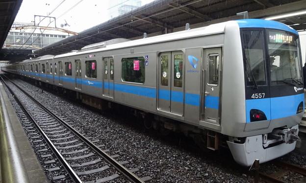 小田急電鉄4000形によるJR東日本常磐線各停