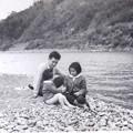 写真: 父と娘たち
