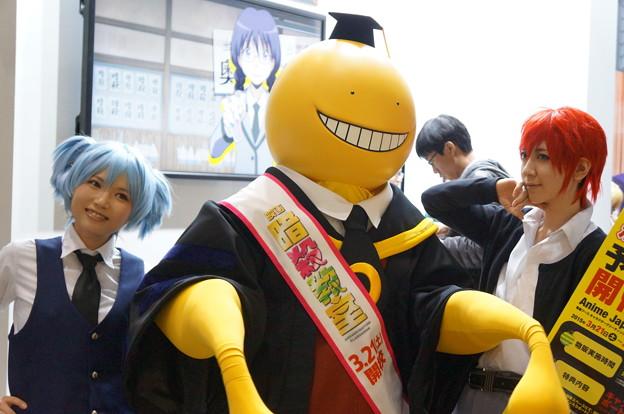 アニメジャパン2015 暗殺教室 ころせんせーw