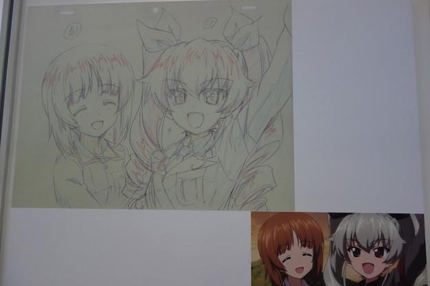 ガルパン展 OVAアニメ展示パネル