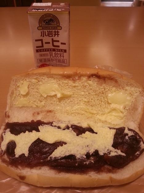 念願の盛岡名物 福田パン あんバター いただきます(*^^*)