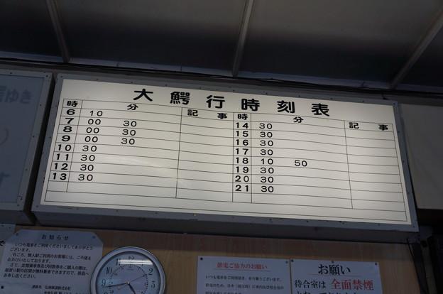 大鰐線 中央弘前駅 時刻表