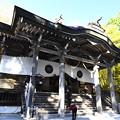 写真: 戸隠神社・中社の拝殿