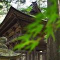 写真: 洲原神社の楼門