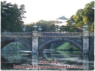 東京駅と皇居4