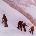 写真: 山と遊んだ日々 雪の斜面