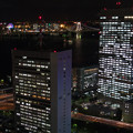 東京夜景 レインボーブリッジとお台場