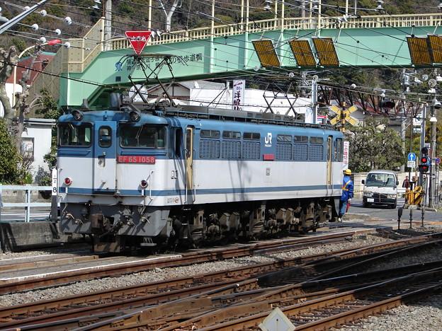 Photos: #496 JR貨物 EF65 1058 2007.3.13