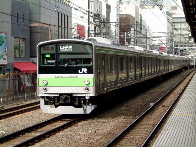 #731 山手線205系 東トウ8F 2003-2-2