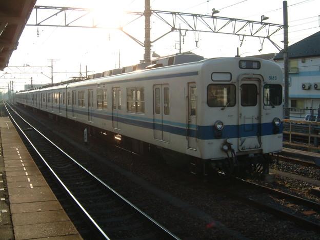 東武鉄道5070系5183F 2003-2-9