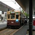 Photos: 広島電鉄C#761(記号モハ) 2003-8-27