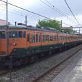 Photos: 千マリ113系湘南色117F+S62F 2011-5-1/4
