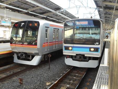 東葉高速鉄道C#2007・八ミツK6F 2016-11-26
