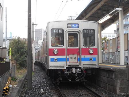 京成電鉄モハ3588 2016-12-22