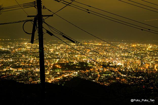 熊本夜景。