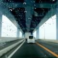 雨の日のドライブ