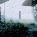 雨に煙る車窓