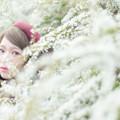 写真: White